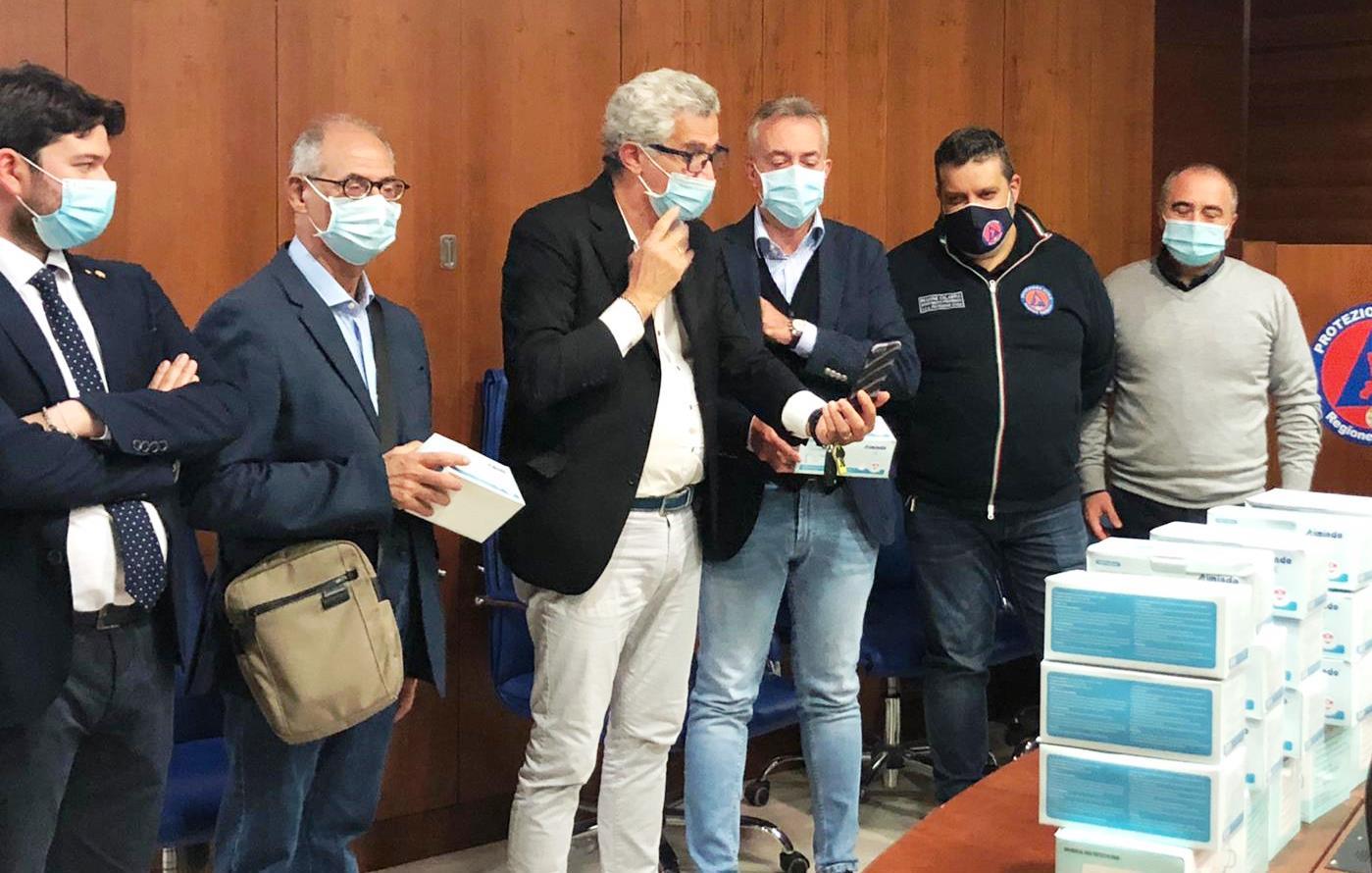 Dalla regione Calabria 6000 mascherine da destinare alle persone con disabilità