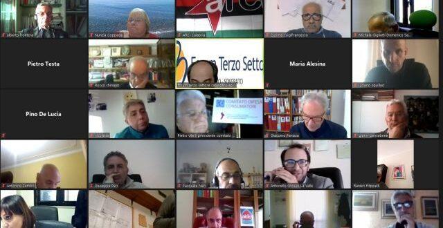 Il Forum del Terzo Settore Calabria rinnova i suoi organi. Squillaci nuovo portavoce