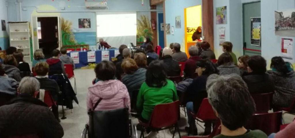 La FISH Calabria nella sede dell'Associazione La Spiga per la campagna sul progetto individuale