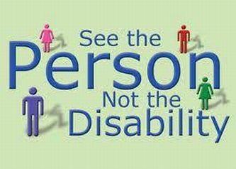"""Si parli di """"Persone con disabilità"""""""