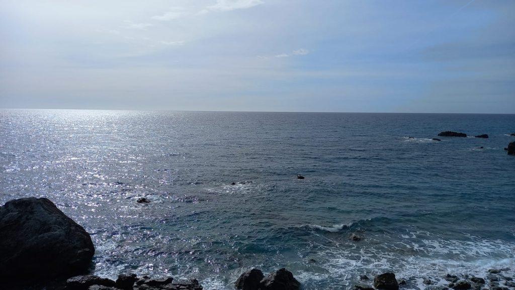 foto della costa tirrenica calabra. Falerna